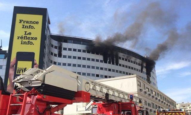 Le feu s'est déclaré aux alentours de 12h15