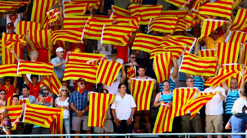 Supporters des Dragons Catalans