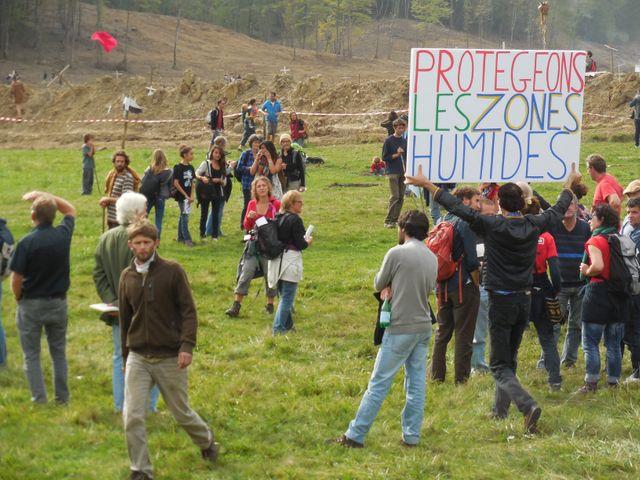 Les opposants au barrage de Sivens