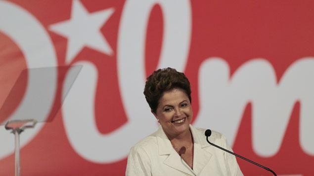 Dilma Rousseff présidente de la République du Brésil