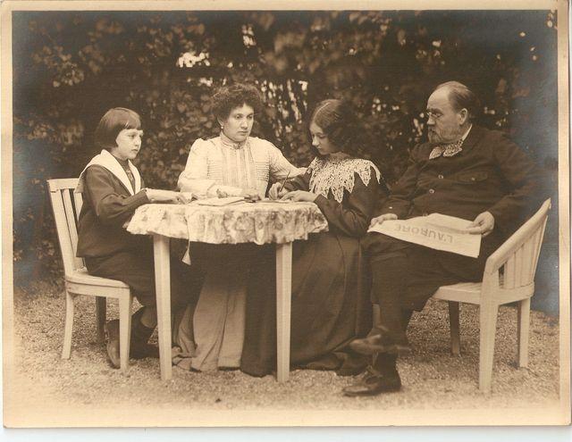 Emile zola et sa famille