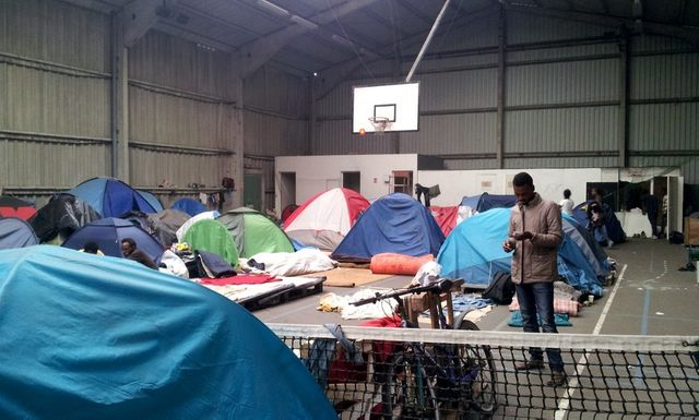 Gymnase à Calais