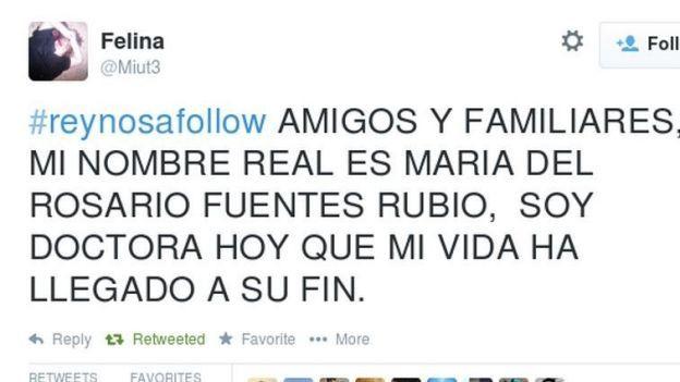 Elle tweete pour dénoncer les narcotrafiquants, ils tweetent sa mort