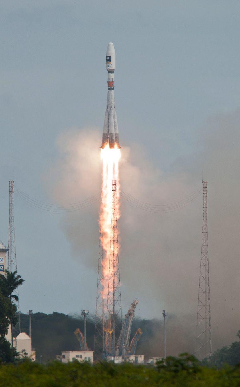 Lancement d'un module Galileo