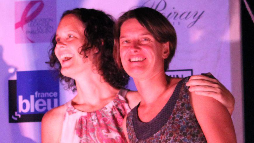 Angélique Blanchard et Solen Kerleroux, vainqueur du Trophée Roses des Sables 2014