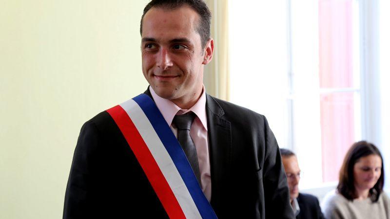 Joris Hébrard, maire FN du Pontet