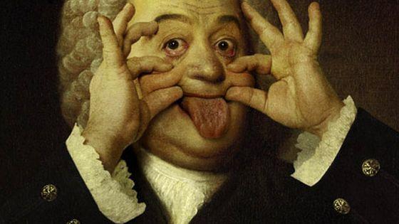 Parodie du portrait de Jean-Sébastien Bach - mea 603 380
