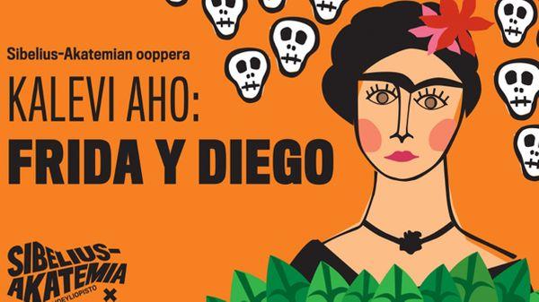 Frida Kahlo et Diego Rivera à l'opéra