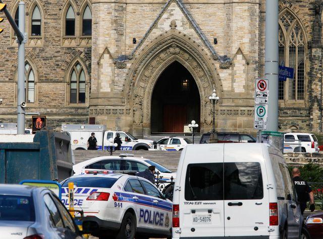 Fusillade au parlement canadien