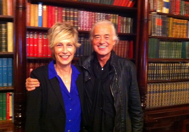 Jimmy (Page) et Valli @ The Gore Hotel, Londres