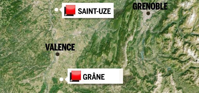 Carte du jeu des 1000 euros - Drôme