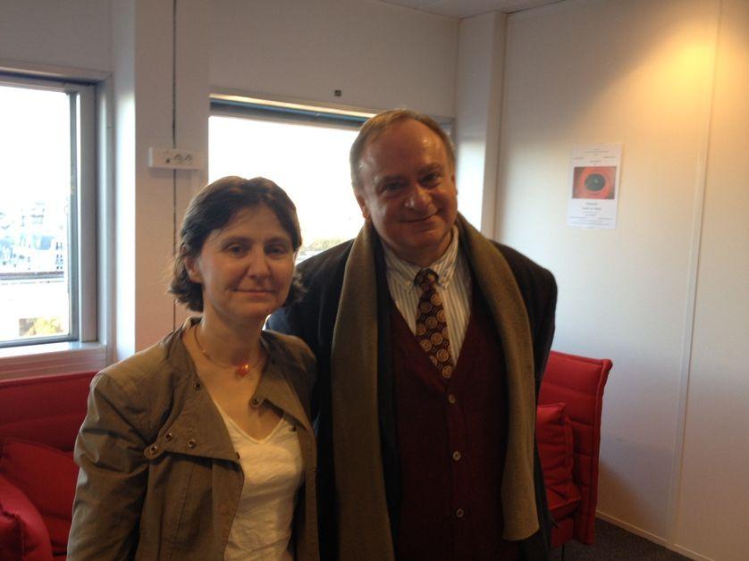 Agnès Bénassy-Quéré et Jean-Marc Daniel