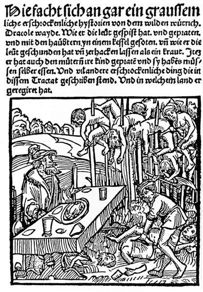 Vlad Tepes sur une gravure de Markus Ayrer de 1499