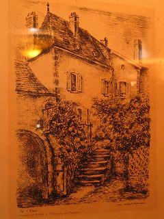 La maison de Colette à Saint-Sauveur-en-Puisaye