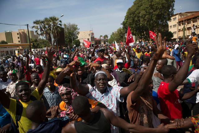 Les manifestations se succèdent au Burkina Faso, contre le projet de révision constitutionnelle