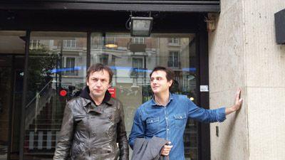 Mehdi Belhaj Kacem et Tristan Garcia