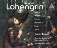 Lohengrin Wagner Barenboim Teldec 3984-21484-2