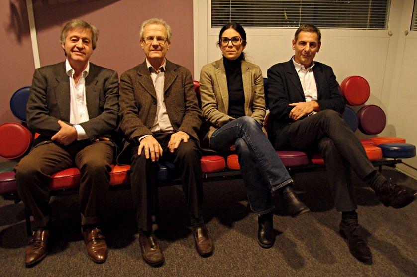 Yves Roucaute, Robert Frank, Delphine Lagrange et François Ernenwein