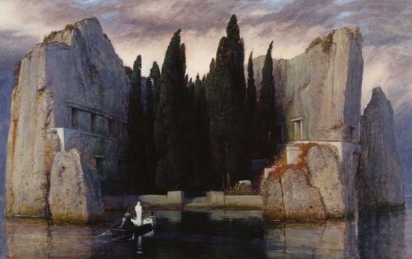 Arnold Böcklin, L'Ile des morts (troisième version, 1883)