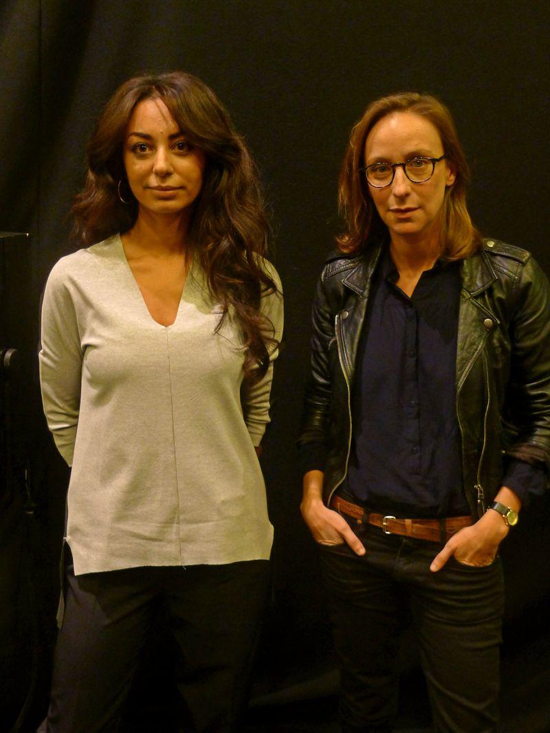 Kaoutar Harchi et Céline Sciamma