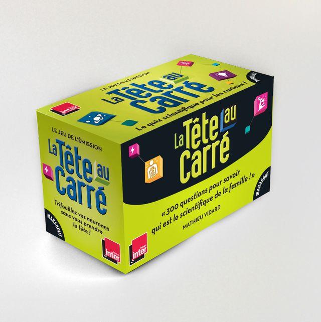 Boîte de jeu la tête au carré