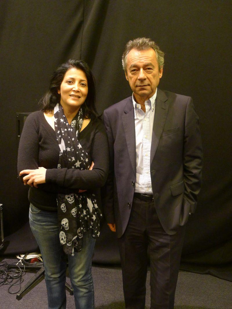 Sofia Amara et Michel Denisot