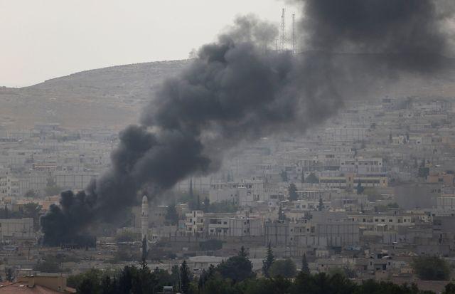 Le groupe État islamique progresse dans Kobané