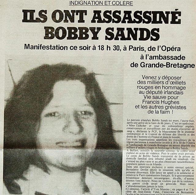 Une de L'Humanité, 6 mai 1981