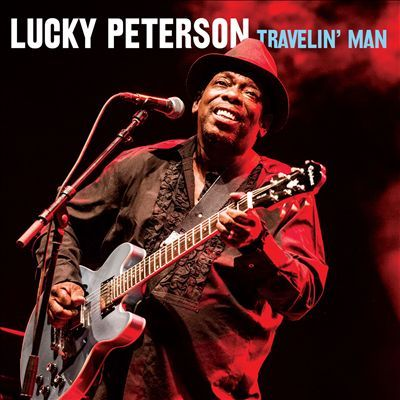 Visuel CD - Travelin' Man - Lucky Peterson