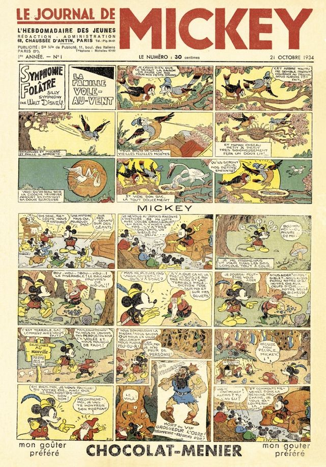 Le journal de Mickey 1934