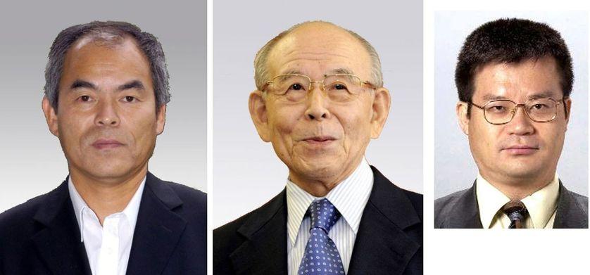 Les lauréats du Nobel de physique