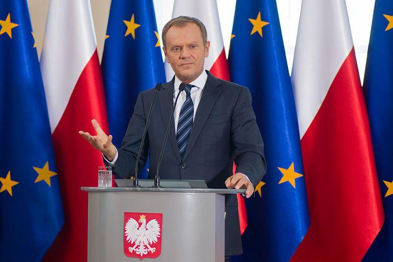 Donald Tusk, président du Conseil des ministres polonais, 29 avril 2014