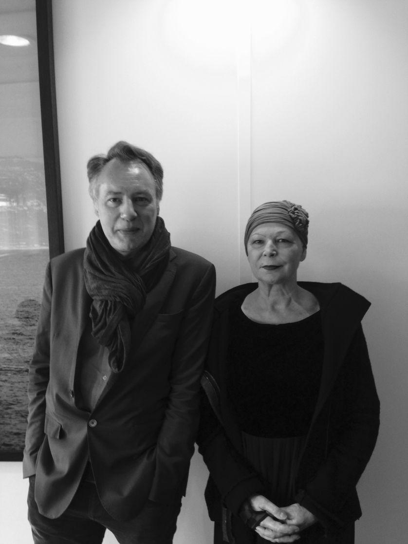Jean-Marc Parisis et Lydie Salvayre