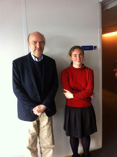 Jean-Paul Rappeneau et Aurélie Feste-Guidon