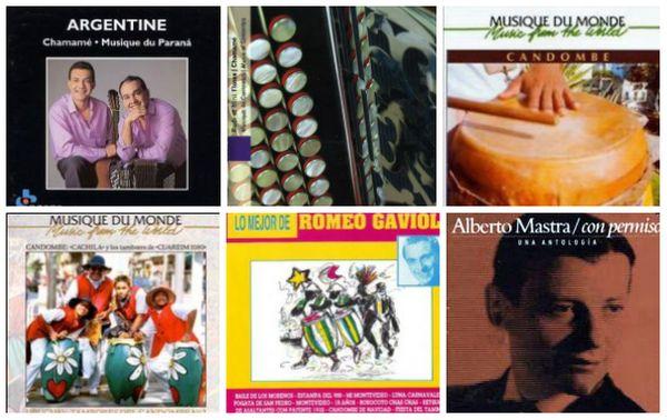 Collage pochette disque Carnet de Voyage. Michel Plisson