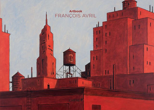 Couverture art book François Avril