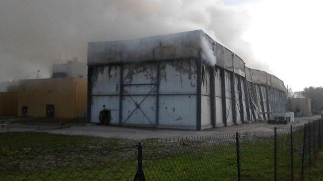 Le moulin de la Chaume parti en fumée. La Voulte-sur-Rhône