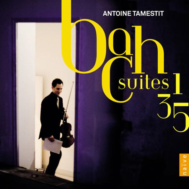 """Tamestit-Bach """"Suites 1-3 et 5"""" (2012)"""