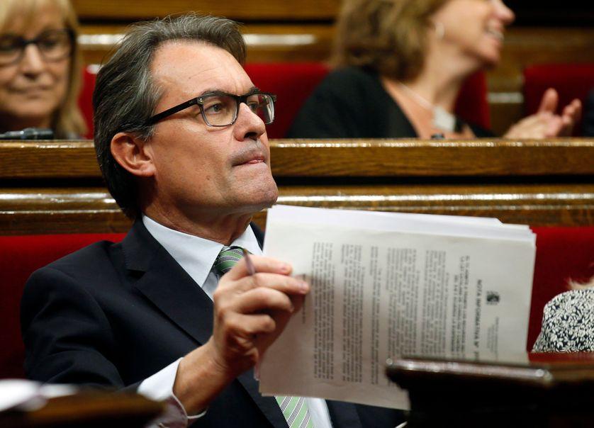 Artur Mas, président de la Catalagone