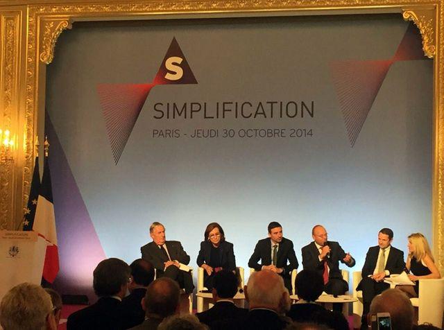 A l'Elysée, présentation des 50 nouvelles mesures de simplification