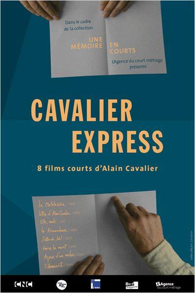 Alain Cavalier - affiche film Cavalier Express