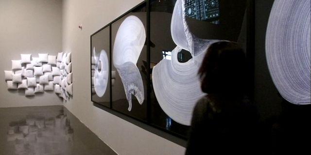 """Exposition """"Le Maroc Contemporain"""" à l'IMA / dont l'oeuvre de Safaa Erruas"""