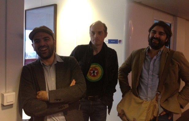 Roberto Saviano, Fabrice Lhomme et Fabrice Arfi