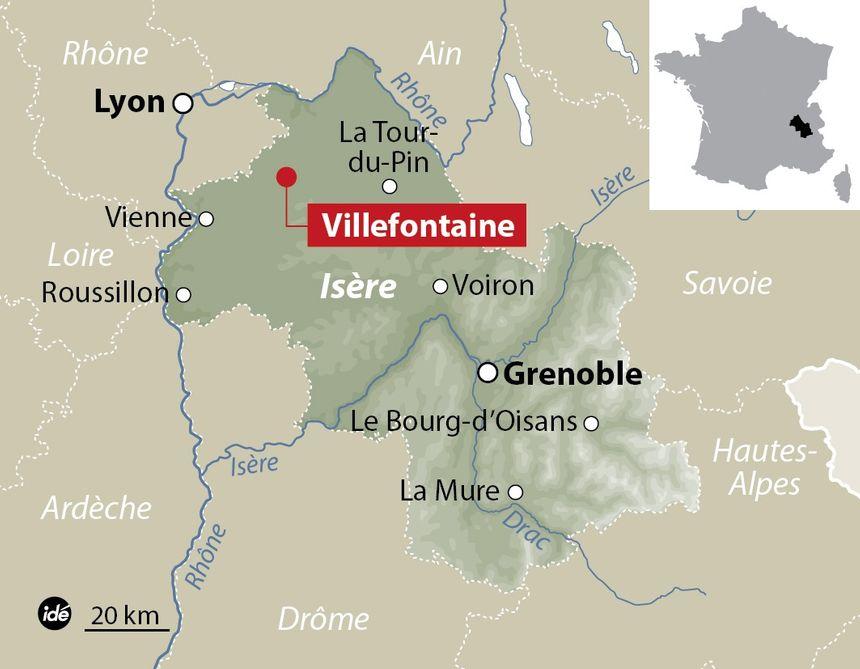 Villefontaine, en Isère.