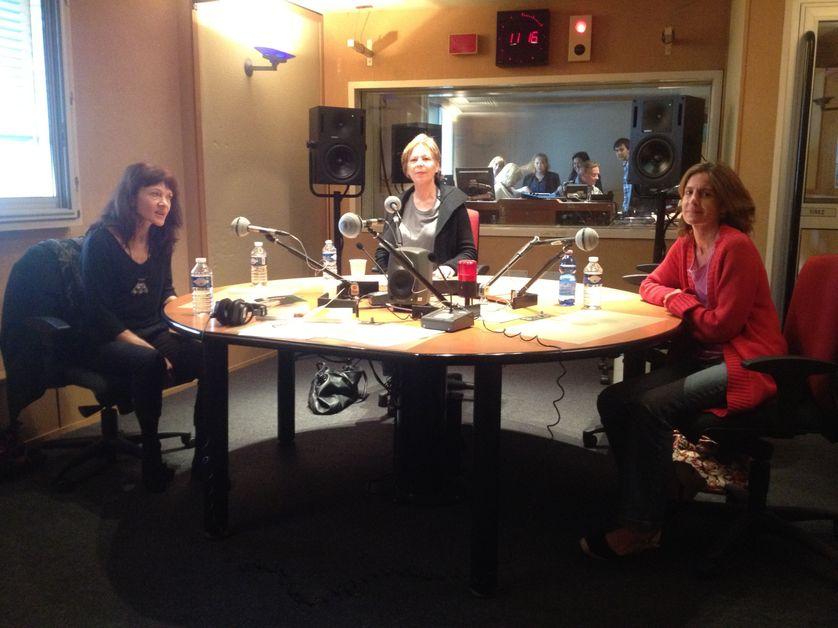 Nancy Huston, Lydie Salvayre et Pauline Dreyfus