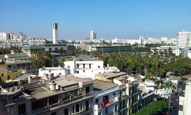 Le centre de Casablanca