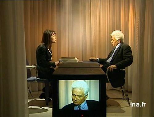 Jacques Derrida invité du Cercle de minuit en 1996