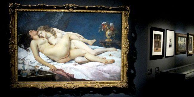 """""""Le Sommeil"""" de Courbet"""