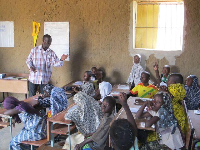 Ecole à Gao, Mali