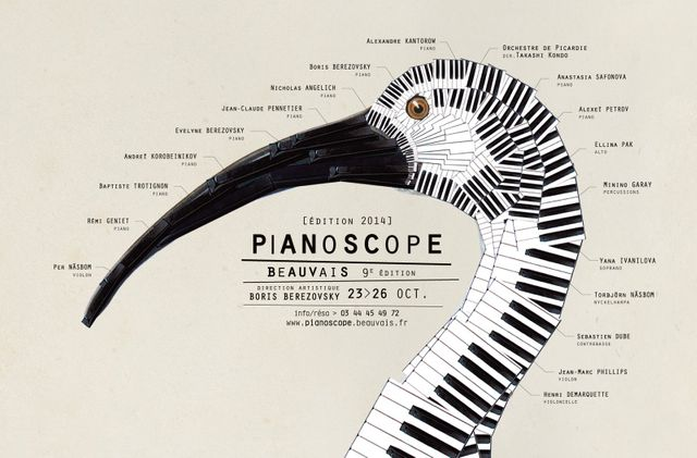 "Festival ""Pianoscope"" de Beauvais - du 23 au 26 oct 2014"